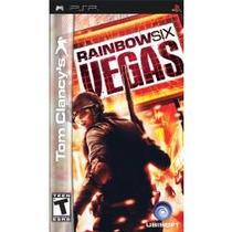 Jogo Tom Clancy`s Rainbow Six Vegas Para Psp Lacrado Ubisoft