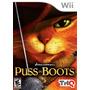 Wii Puss In Boots Gato De Botas Dream Works