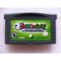 Gba: Mario Golf Advance Tour Original Americano! Raríssimo!