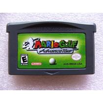 Gba: Mario Golf Advance Tour Original Americano! Raríssimo!