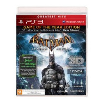 Batman: Arkham Asylum Game Of The Year Edition - Ps3