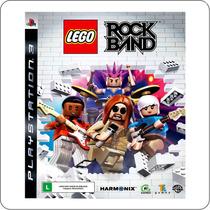 Lego Rock Band - Ps3 - Playstation 3 - Original Novo Lacrado