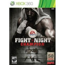 Jogo Original E Lacrado Fight Night Champion Para Xbox 360