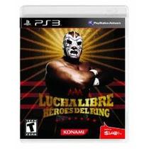 Jogo Lançamento Lucha Libre Héroes Del Ring Para Ps3 Novo
