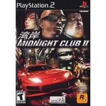 Jogo Lacrado Rockstar Corrida Midnight Club 2 Ii Para Ps2