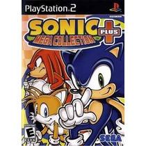 Sonic Mega Collection Plus Ps2 Patch - Promoção!!!