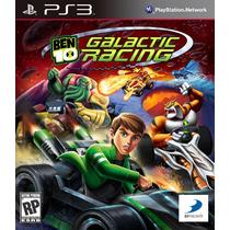 Ps3-jogo De Corrida Do Ben 10 Galatic Racing Novo