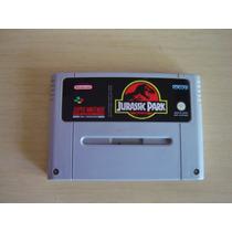 Jurassic Park - Super Nintendo - Frete Gratis