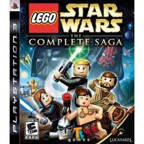Lego Star Wars The Complete Saga Ps3 Frete Gratis