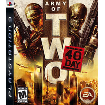 Army Of Two - The 40th Day - Jogo Ps3 - Mídia Física