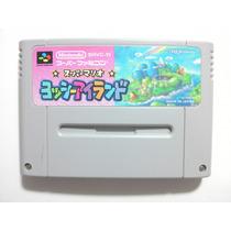 Cartucho Super Nintendo/famicom - Yoshi Island - Veja!