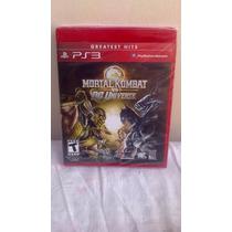 Mortal Kombat Vs Dc Universe - Ps3 - Novo Lacrado