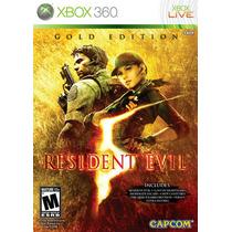 Resident Evil 5 Gold Edition Xbox 360 Original Lacrado
