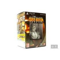Box Do Jogo Duke Nukem Forever Balls Of Stell Edition Do Ps3