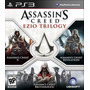 Assassins Creed Ezio Trilogy 3 Games Mídia Física Ps3