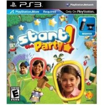 Jogo Start The Party Para Ps3 Exclusivo Sony Necessario Move