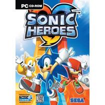 Pc Sonic Heroes - Novo - Original - Lacrado