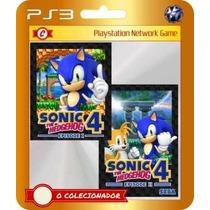 Sonic The Hedgehog 4 Episode I + Ii (código Ps3)