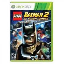 Jogo Lego Batman 2 Dc Super Heores Edição Limitada Xbox 360