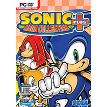 Pc Sonic Mega Collection Plus- Novo - Original - Lacrado