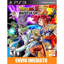 Dragon Ball Z Battle Of Z - Ps3 - Código Psn - Promoção !!