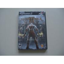 God Of War 2 Lacrado Para Playstation 2 - Black Label - Raro