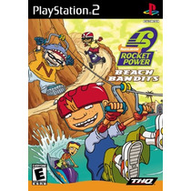 Dvd Ps2 Rocket Power Beach Bandits 100% Original Black
