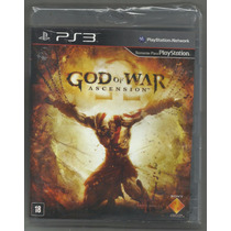 God Of War: Ascention - Ps3 Original. Pronta Entrega.