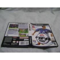 Fifa Soccer 2003 Original Com Manuais P/ Game Cube