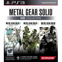 Game Ps3 Metal Gear Solid Hd Collection