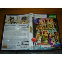 #2 Jogo Xbox360 Xbox Kinect Adventures Original Frete 6r$