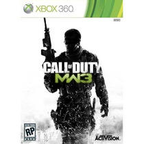 Call Of Duty Modern Warfare 3- Mw3 Xbox 360 - Orignal