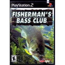 Jogo Original Fisherman`s Bass Club Pesca Para Ps2 Lacrado