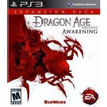 Dragon Age Awakening Ps3 Americano ,envio Sedex A Cobrar