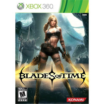 Game Blades Of Time - Xbox360 (ntsc Novo Lacrado Nfe)