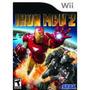 Wii Iron Man 2 Homem De Ferro Homen Omen Omem