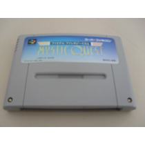 Cartucho Original Nintendo Super Famicon Final Fantasy Mysti