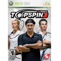 Game Xbox 360 Top Spin 3