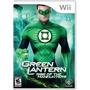 Jogo Americano Lanterna Verde Green Lantern Pra Nintendo Wii