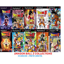 Dragon Ball Z Collections - Playstation 2 - Frete Gratis.