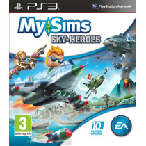 My Sims Sky Heroes Frete Grátis Jogo Infantil Ps3 Sdgames