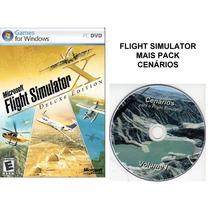 Flight Simulator X Deluxe + Pack De Cenários