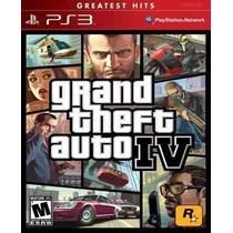 Gta 4 Grand Theft Auto Iv 4 Ps3 Original Frete Grátis