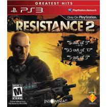 Resistance 2 - Exclusivo Playstation 3 Em Português