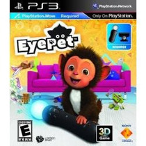 Jogo Eye Pet Move Compativel Com 3d Para Ps3 Playstation 3