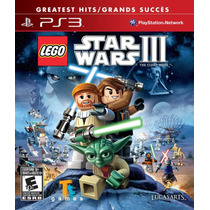 Lego Star Wars 3 Iii The Clone Wars - Pronta Entrega -