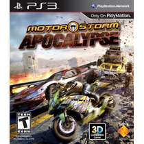 Motorstorm Apocalypse Ps3 Original Lacrado