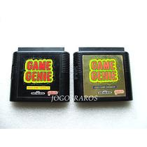 Mega Drive: Game Genie + Super Coletânea De Códigos, Raro!!