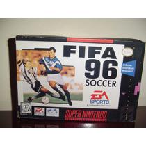 Game Fifa Soccer 96 Super Nitendo Futebol Antigo