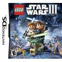 Nintendo Ds Lego Star Wars Iii Guerra Nas Estrelas